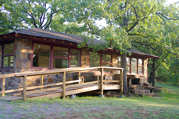 Glass Cabin | Camp Loughridge