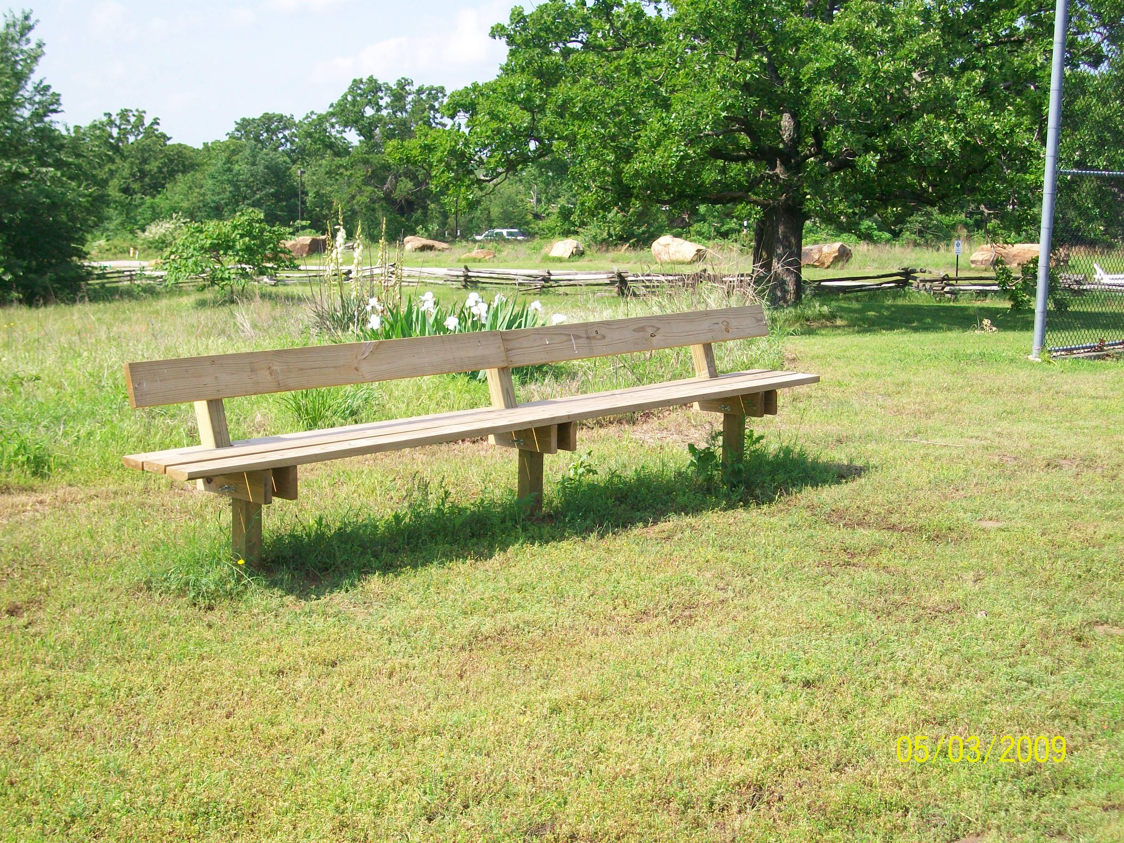 ballfield-benches